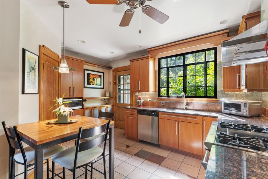 Real Estate Photography - 3545 Golf Rd, Evanston, IL, 60203 - Kitchen