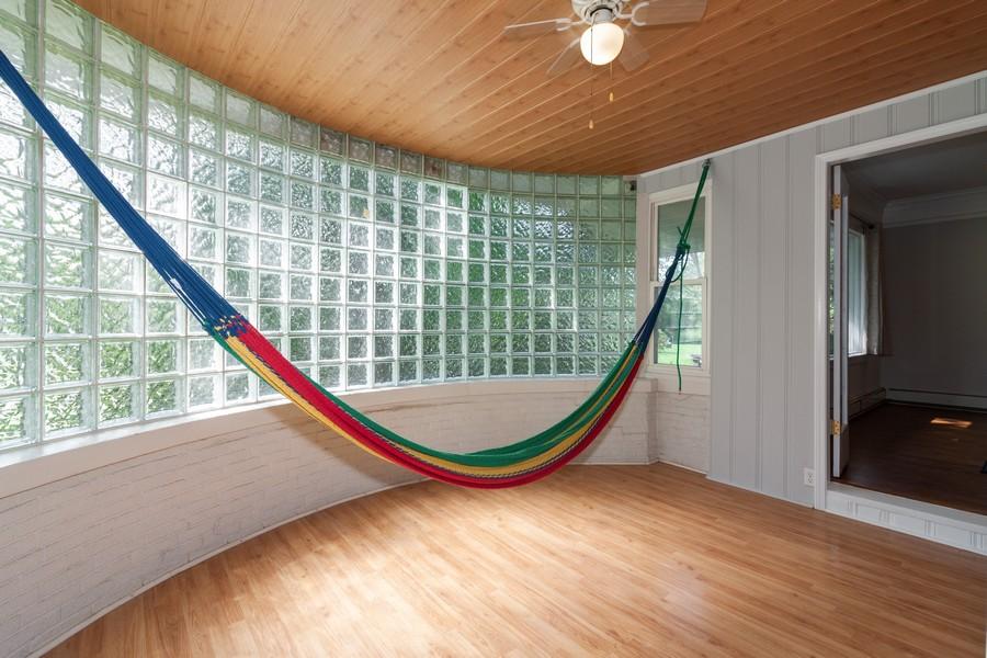 Real Estate Photography - 412 S Riverside Drive, Villa Park, IL, 60181 - Enclosed Heated Porch