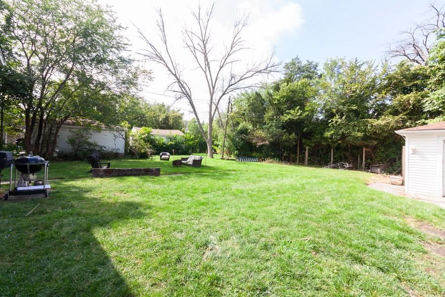 Real Estate Photography - 412 S Riverside Drive, Villa Park, IL, 60181 - Back Yard