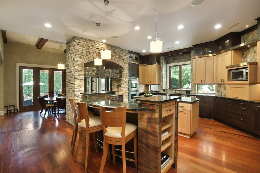 Real Estate Photography - 2350 White Oak Drive, Northbrook, IL, 60062 - Gourmet Cooks Kitchen