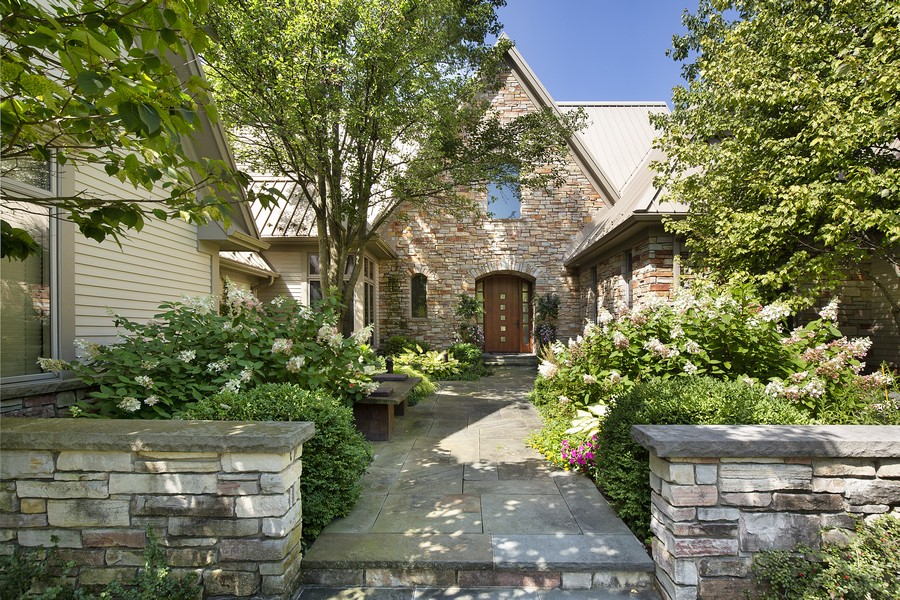 Real Estate Photography - 2350 White Oak Drive, Northbrook, IL, 60062 - Front View