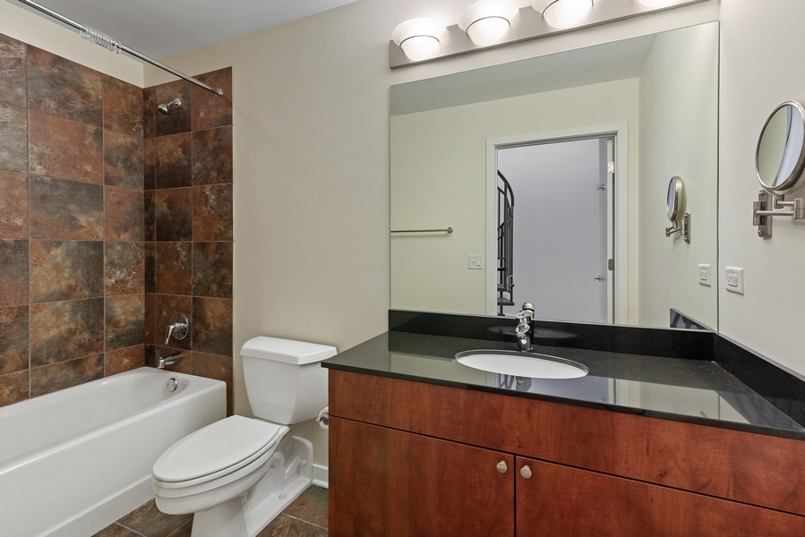 Real Estate Photography - 2303 S Michian, Chicago, IL, 60616 - 2nd Bathroom