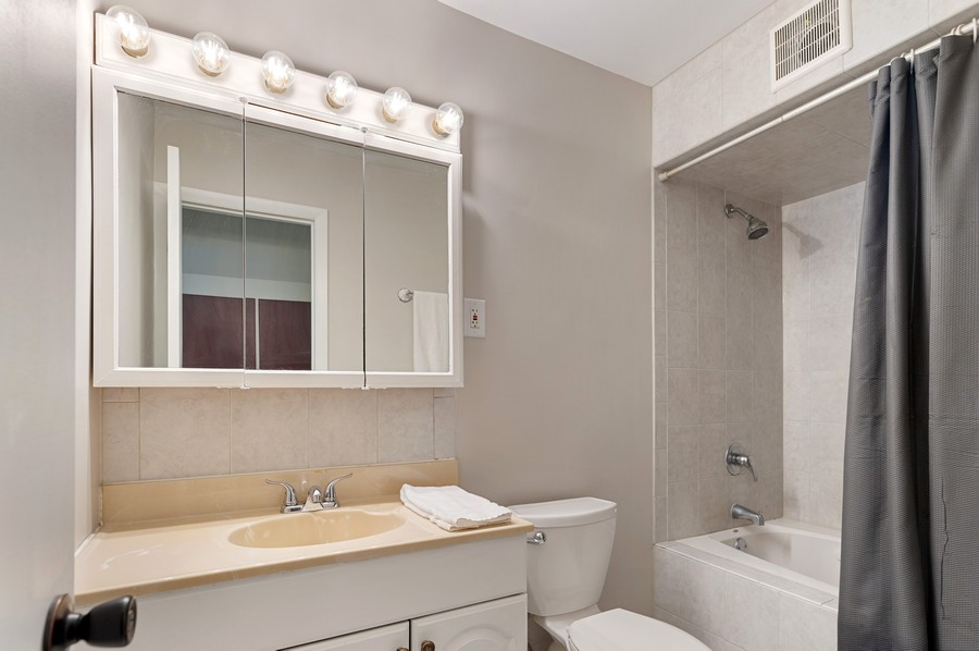 Real Estate Photography - 613 Redwing, Round Lake, IL, 60073 - Bathroom