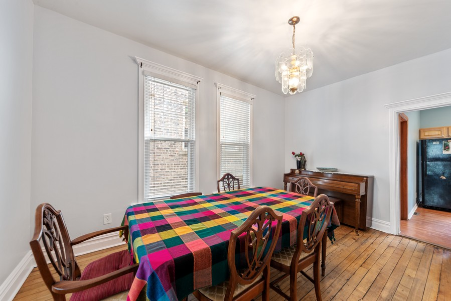 Real Estate Photography - 313 Harrison, Oak Park, IL, 60304 - Dining Room