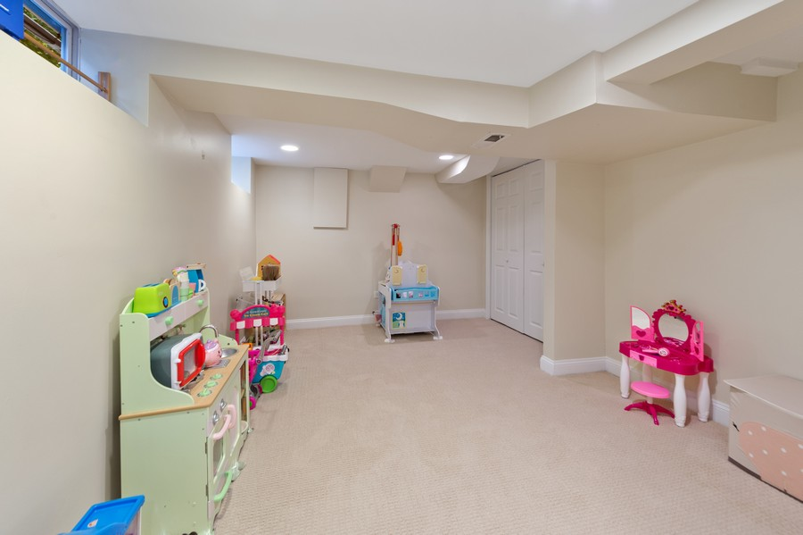 Real Estate Photography - 4200 Rose Avenue, Western Springs, IL, 60558 - Basement