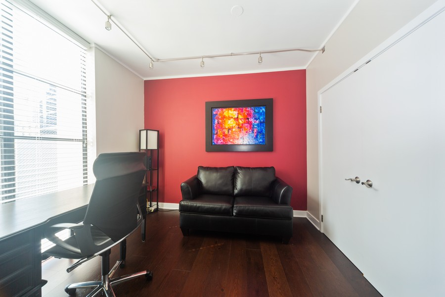 Real Estate Photography - 744 N Clark St., Unit 601, Chicago, IL, 60654 - 2nd Bedroom