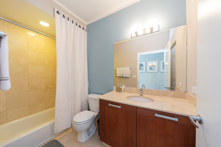 Real Estate Photography - 744 N Clark St., Unit 601, Chicago, IL, 60654 - Bathroom
