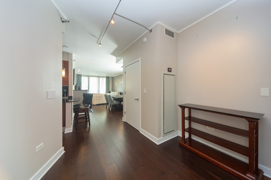 Real Estate Photography - 744 N Clark St., Unit 601, Chicago, IL, 60654 - Entryway