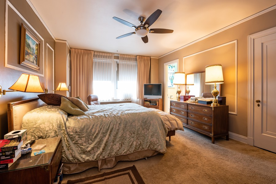 Real Estate Photography - 6901 S Oglesby Avenue, Unit 7A, Chicago, IL, 60649 - Master Bedroom