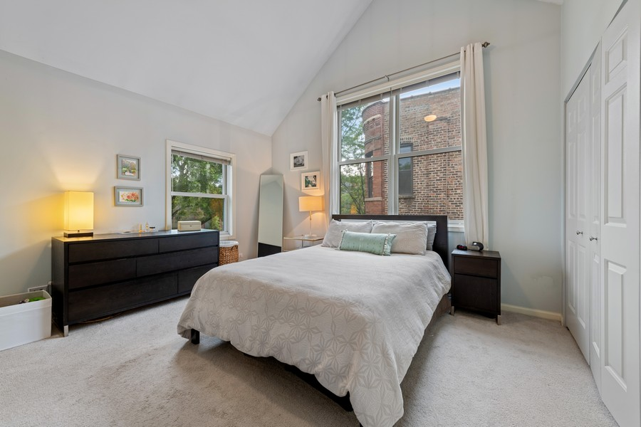 Real Estate Photography - 1755 N Hermitage #A, Chicago, IL, 60622 - Master Bedroom