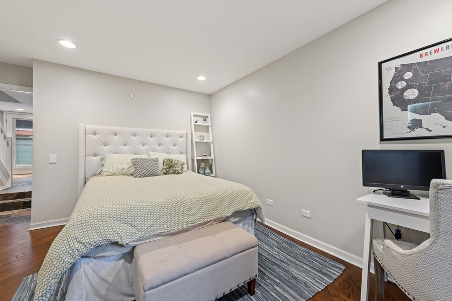 Real Estate Photography - 1755 N Hermitage #A, Chicago, IL, 60622 - Third Bedroom