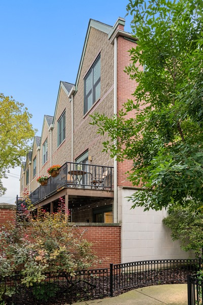 Real Estate Photography - 1755 N Hermitage #A, Chicago, IL, 60622 - Rear View