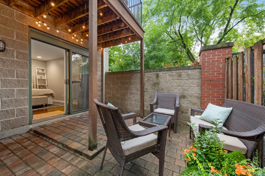 Real Estate Photography - 1755 N Hermitage #A, Chicago, IL, 60622 - Patio