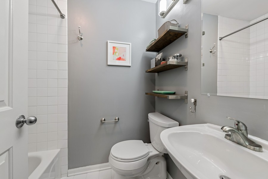 Real Estate Photography - 1755 N Hermitage #A, Chicago, IL, 60622 - Second Full Bath