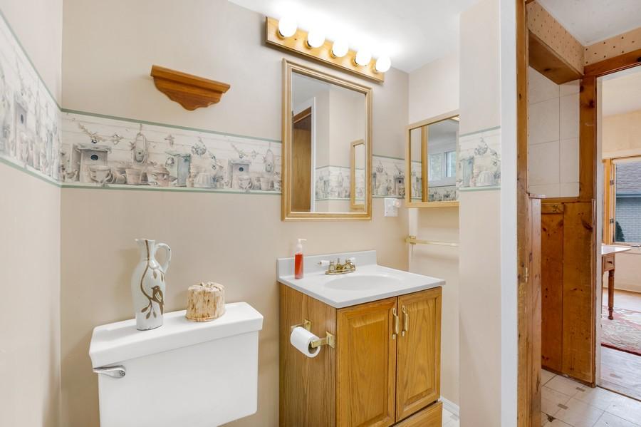 Real Estate Photography - 1320 Dolo Rosa Vista, Crystal Lake, IL, 60014 - Powder Room