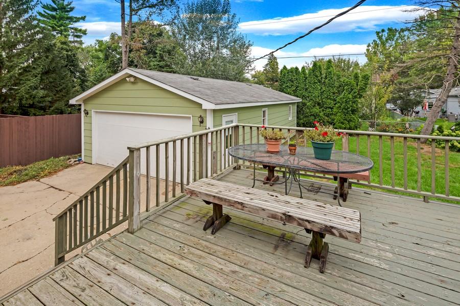 Real Estate Photography - 1320 Dolo Rosa Vista, Crystal Lake, IL, 60014 - Deck