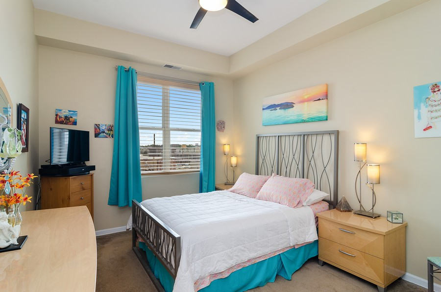 Real Estate Photography - 2317 W. Wolfram #513, Chicago, IL, 60618 - Bedroom