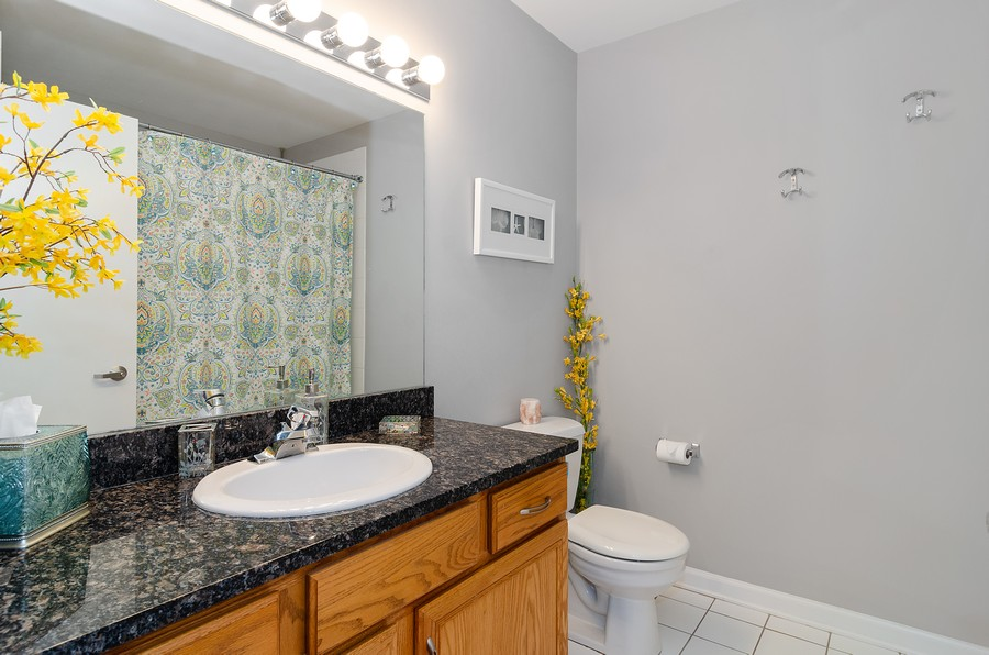 Real Estate Photography - 2317 W. Wolfram #513, Chicago, IL, 60618 - Bathroom
