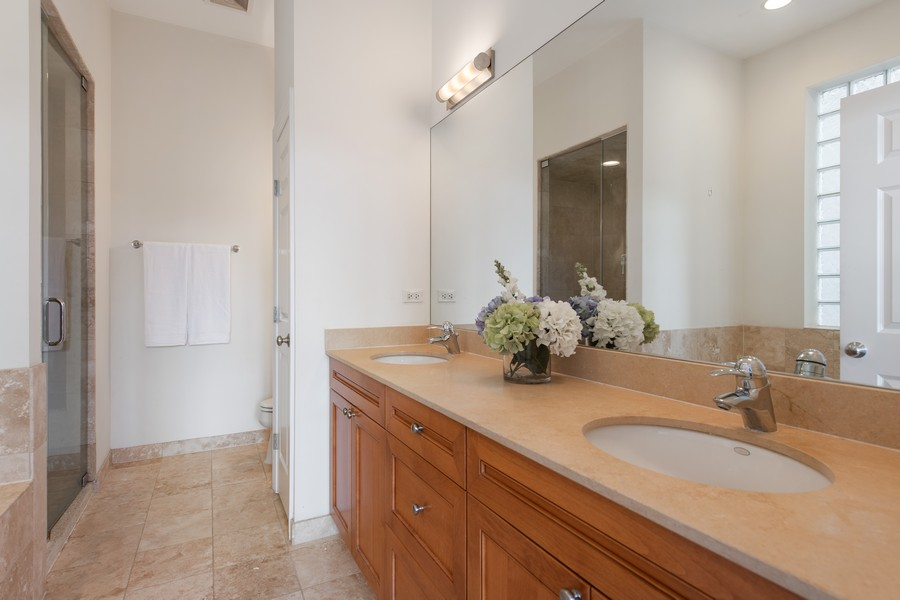 Real Estate Photography - 2239 W. North Ave., 3B, Chicago, IL, 60647 - Master Bathroom