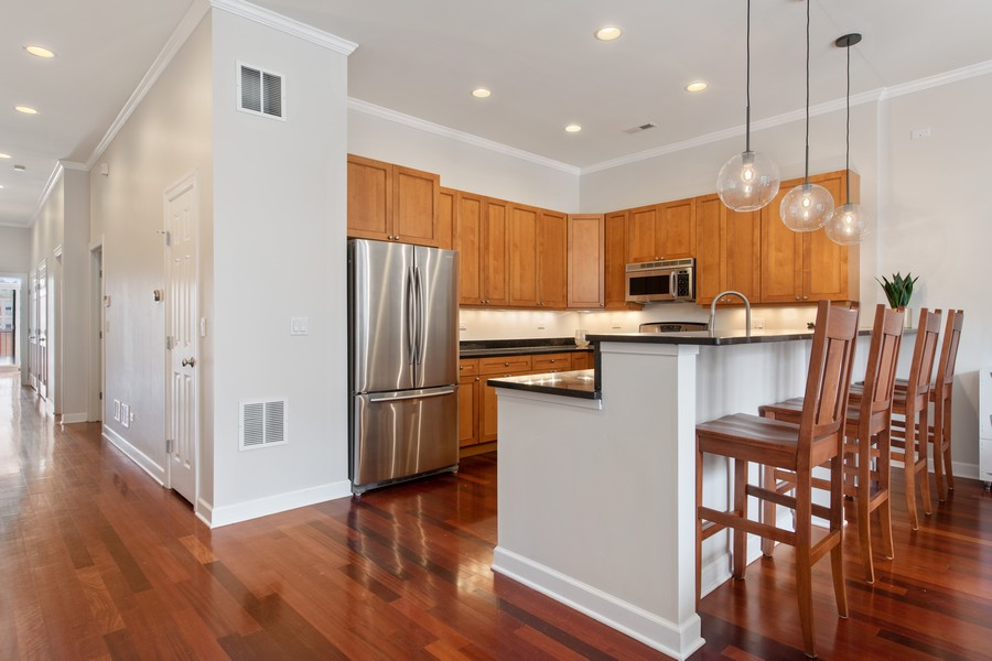 Real Estate Photography - 2239 W. North Ave., 3B, Chicago, IL, 60647 - Kitchen