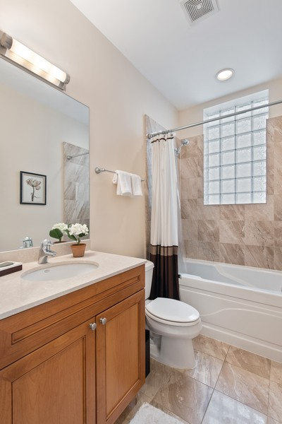 Real Estate Photography - 2239 W. North Ave., 3B, Chicago, IL, 60647 - Bathroom