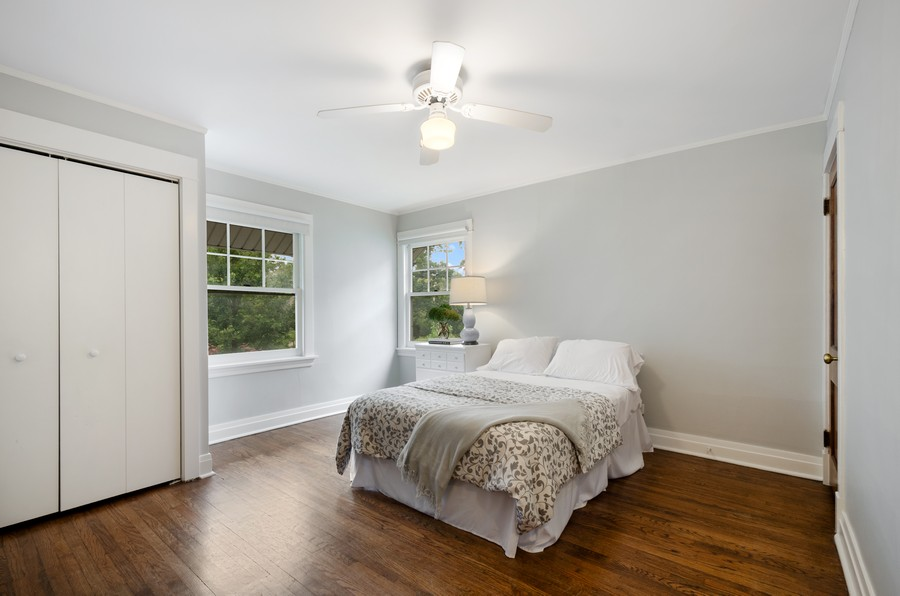 Real Estate Photography - 2749 Woodbine Avenue, Evanston, IL, 60201 - 2nd Bedroom