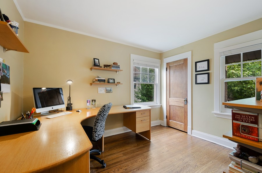 Real Estate Photography - 2749 Woodbine Avenue, Evanston, IL, 60201 - 4th Bedroom
