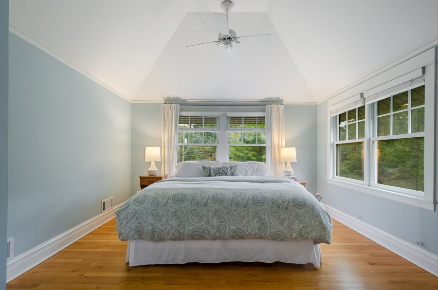 Real Estate Photography - 2749 Woodbine Avenue, Evanston, IL, 60201 - Master Bedroom
