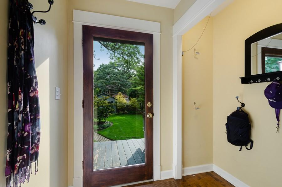 Real Estate Photography - 2749 Woodbine Avenue, Evanston, IL, 60201 - Mudroom