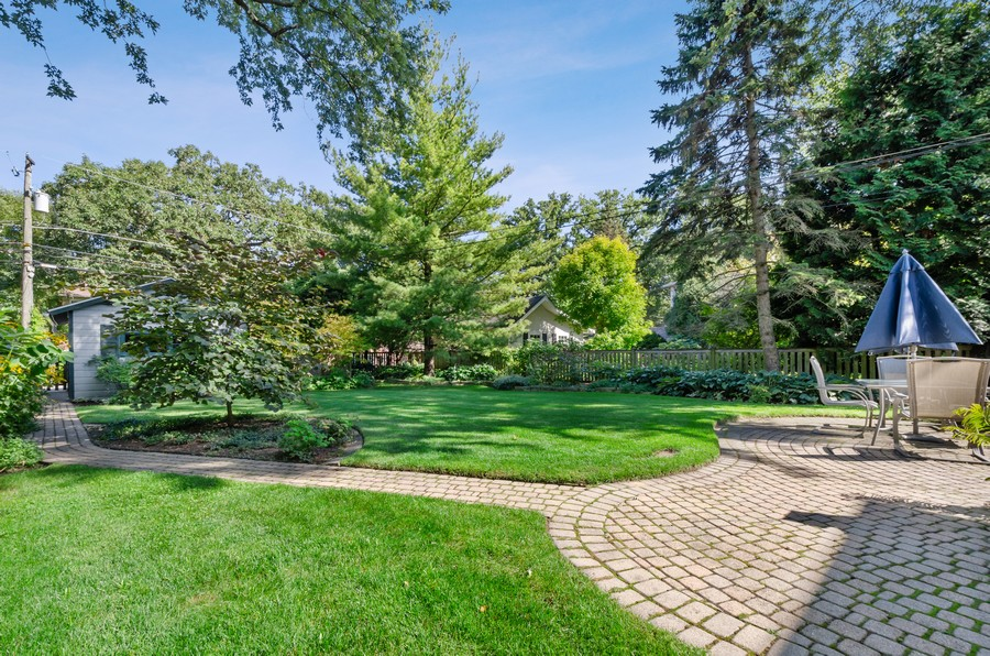 Real Estate Photography - 2749 Woodbine Avenue, Evanston, IL, 60201 - Back Yard