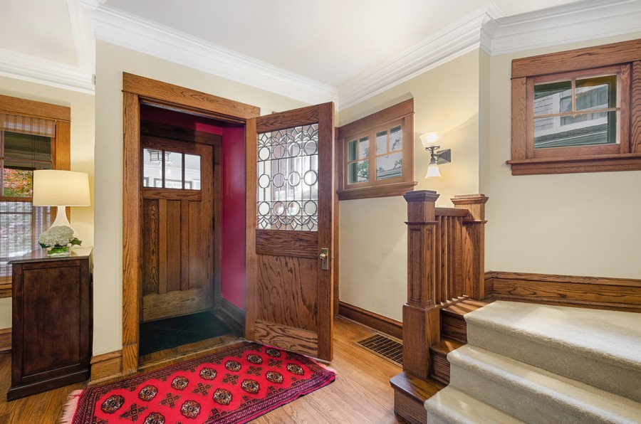 Real Estate Photography - 2749 Woodbine Avenue, Evanston, IL, 60201 - Foyer