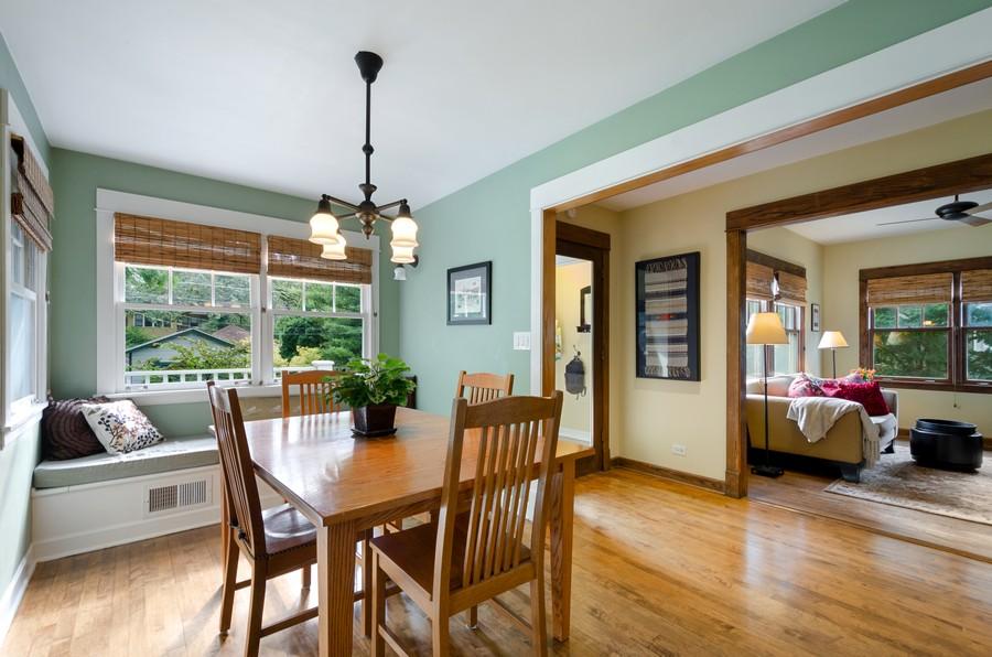 Real Estate Photography - 2749 Woodbine Avenue, Evanston, IL, 60201 - Breakfast Area