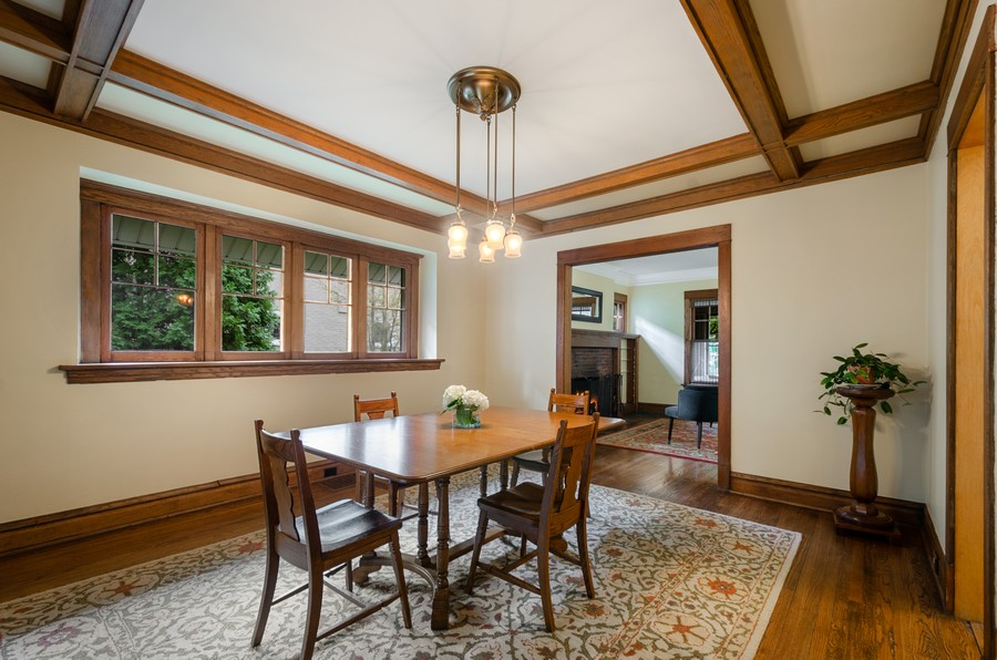 Real Estate Photography - 2749 Woodbine Avenue, Evanston, IL, 60201 - Dining Room