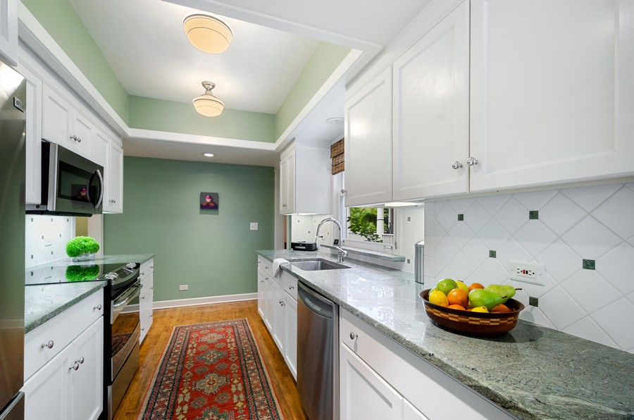 Real Estate Photography - 2749 Woodbine Avenue, Evanston, IL, 60201 - Kitchen