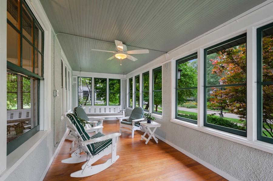 Real Estate Photography - 2749 Woodbine Avenue, Evanston, IL, 60201 - Porch