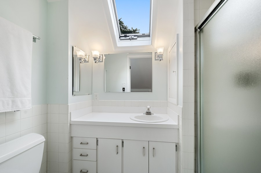 Real Estate Photography - 2749 Woodbine Avenue, Evanston, IL, 60201 - 2nd Bathroom