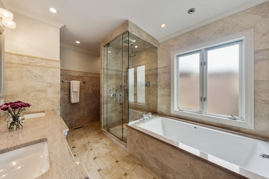 Real Estate Photography - 1951 W Huron St, Chicago, IL, 60622 - Master Bathroom
