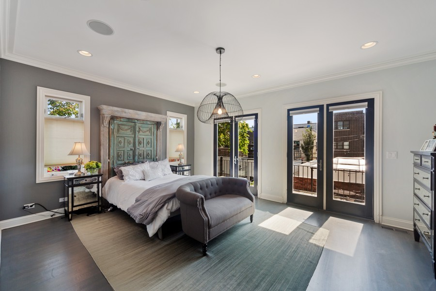 Real Estate Photography - 1951 W Huron St, Chicago, IL, 60622 - Master Bedroom
