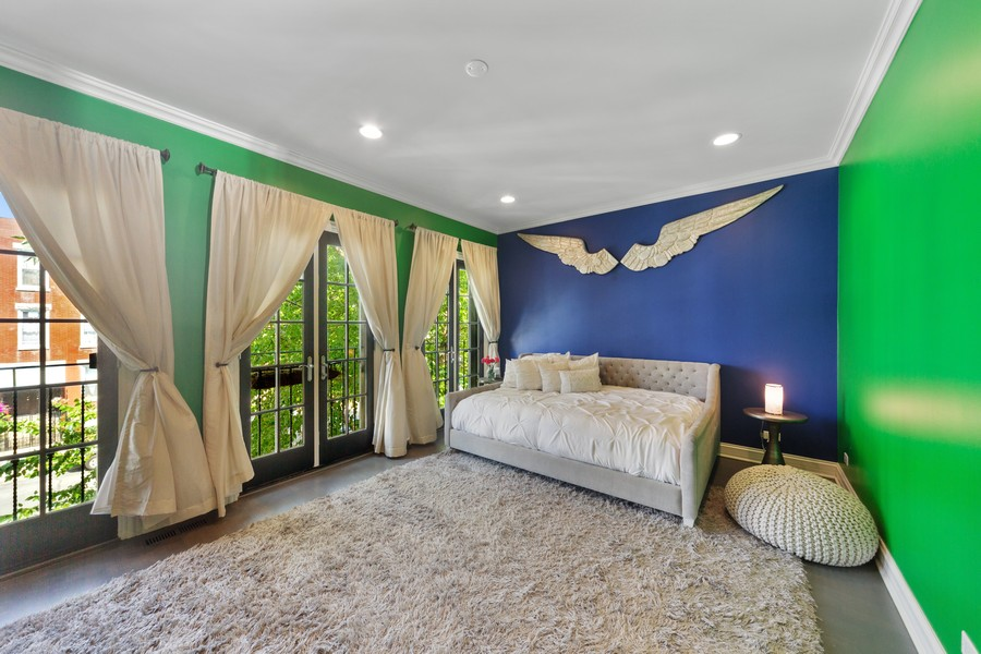 Real Estate Photography - 1951 W Huron St, Chicago, IL, 60622 - 3rd Bedroom
