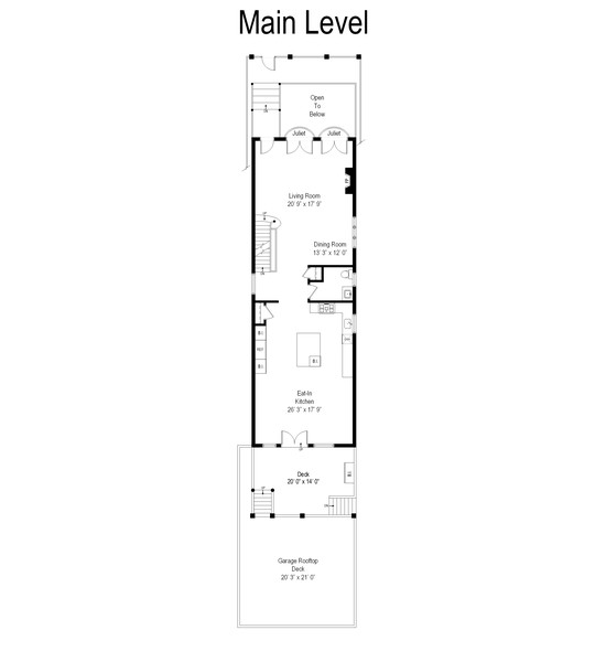 Real Estate Photography - 1951 W Huron St, Chicago, IL, 60622 - Floor Plan