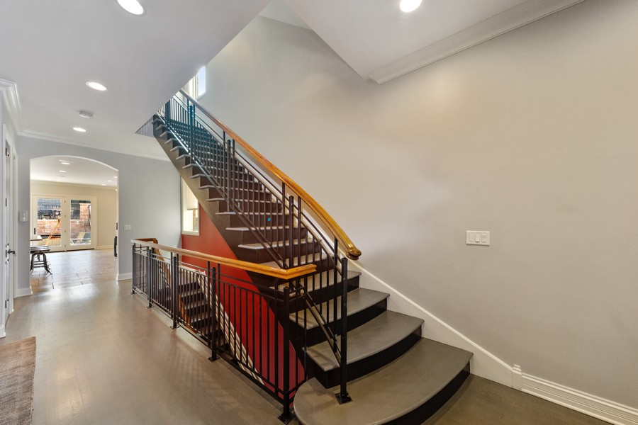 Real Estate Photography - 1951 W Huron St, Chicago, IL, 60622 - Staircase