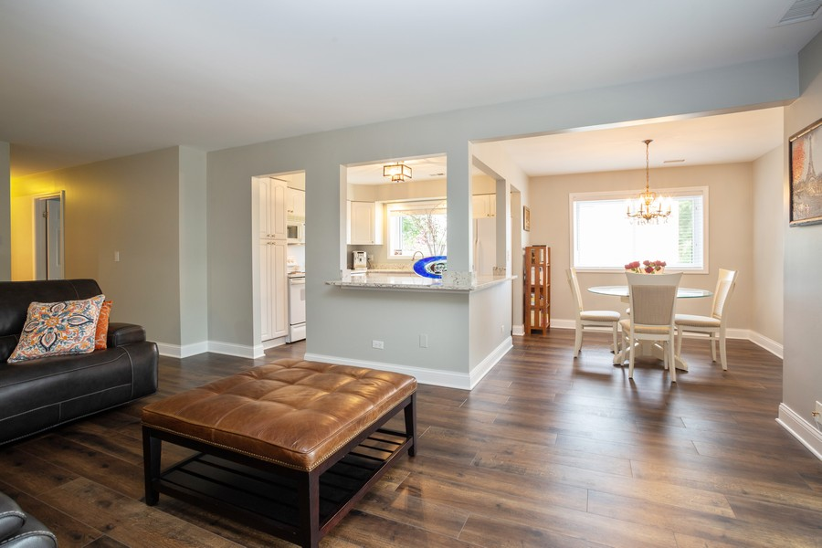 Real Estate Photography - 100 S. Vail Ave, Unit 105, Arlington Heights, IL, 60005 - Living Room / Dining Room