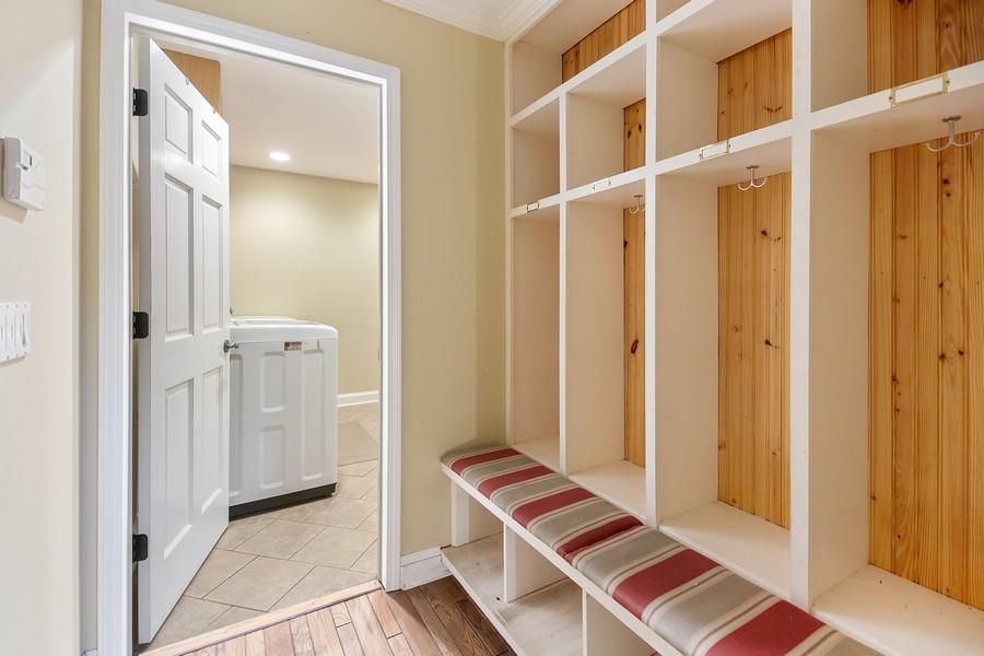 Real Estate Photography - 3 Sara Lane, Barrington, IL, 60010 - Mudroom hallway