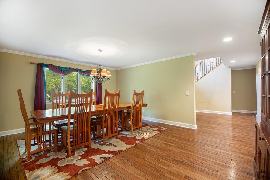 Real Estate Photography - 3 Sara Lane, Barrington, IL, 60010 - Dining Area
