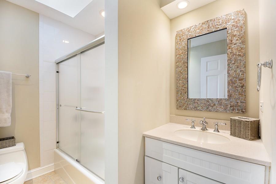 Real Estate Photography - 3 Sara Lane, Barrington, IL, 60010 - Bathroom