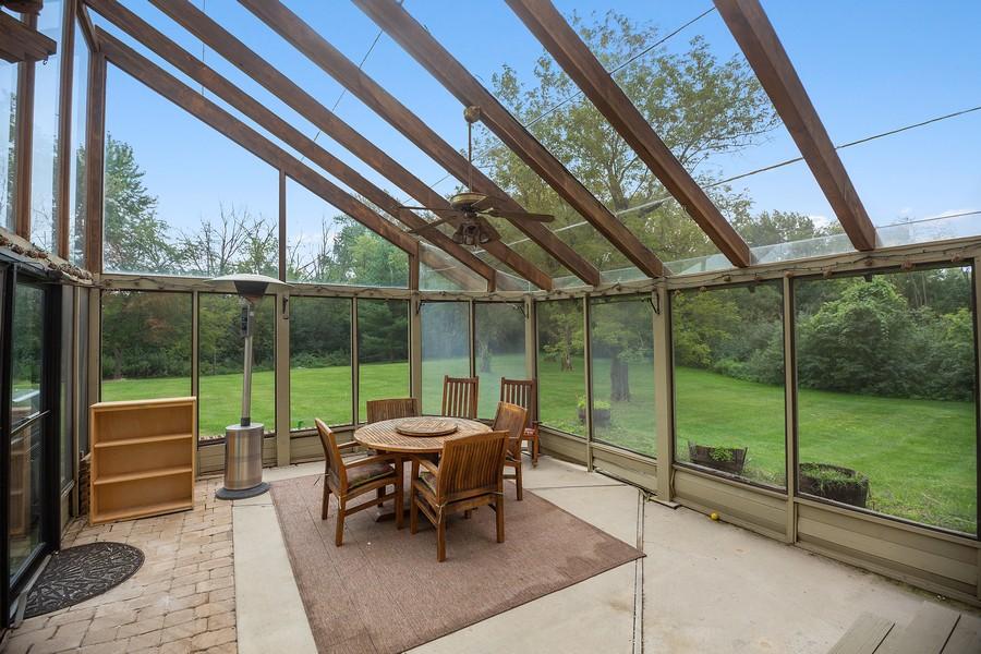 Real Estate Photography - 3 Sara Lane, Barrington, IL, 60010 - Sun Room