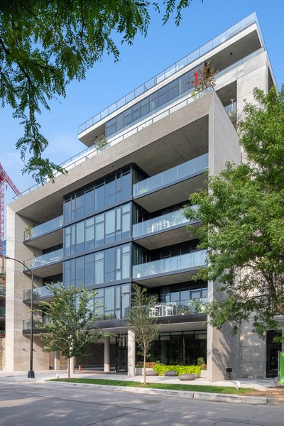 Real Estate Photography - 111 S Peoria St, Chicago, IL, 60607 - Front View