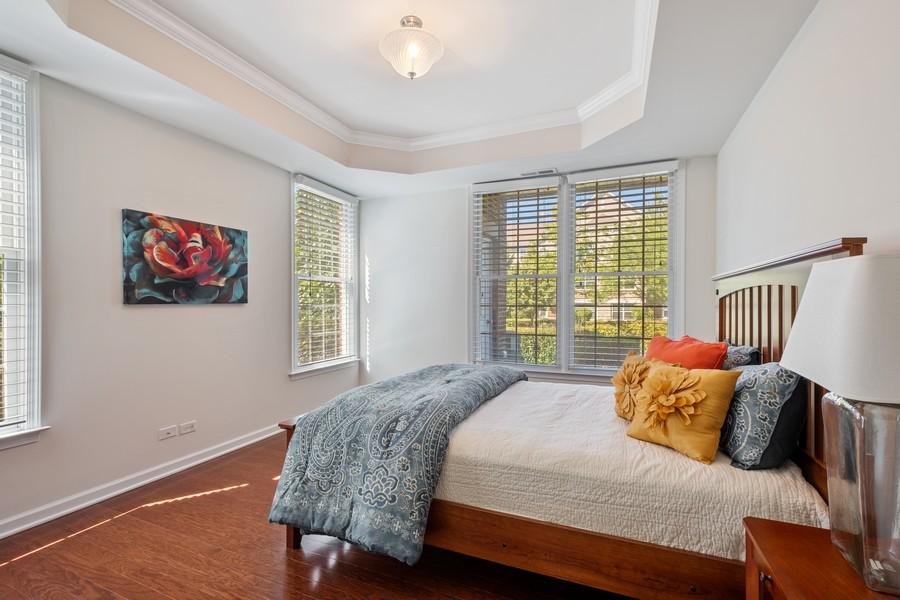 Real Estate Photography - 1698 Patriot Blvd, Glenview, IL, 60026 - Master Bedroom