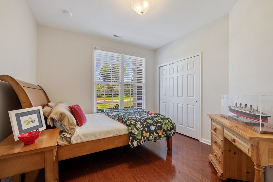 Real Estate Photography - 1698 Patriot Blvd, Glenview, IL, 60026 - 2nd Bedroom