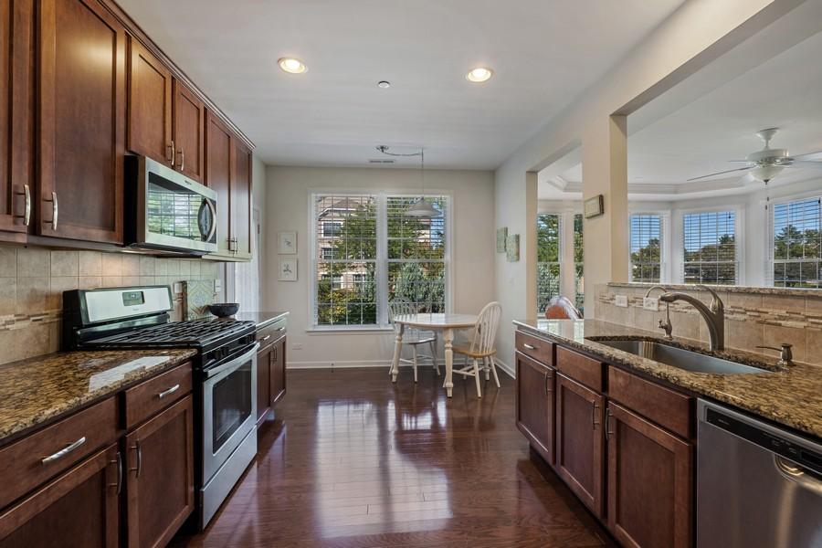 Real Estate Photography - 1698 Patriot Blvd, Glenview, IL, 60026 - Kitchen / Breakfast Room